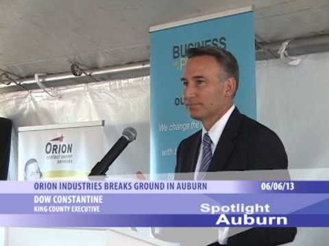Spotlight Auburn: Orion Industries Ground Breaking