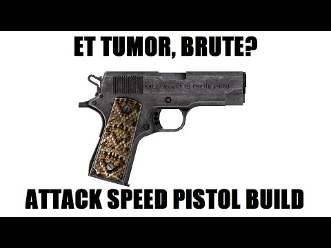 Fallout New Vegas: Et Tumor, Brute? (Level 50 Attack speed pistol build)