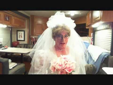Ms Jean Cross Dressing as a Bride
