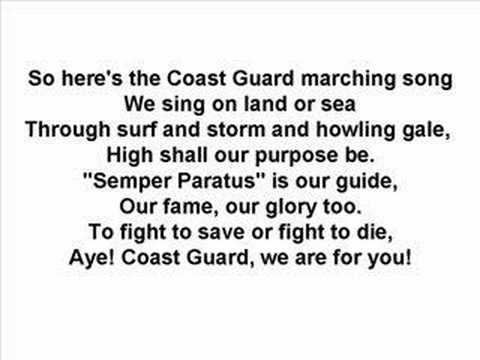 US Coast Guard - Marching Song