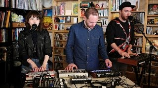 Chvrches NPR Music Tiny Desk Concert