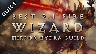 Best 2.1 Wizard Build & Gear: Fire Mirror Hydra - Diablo 3 Reaper of Souls Guide