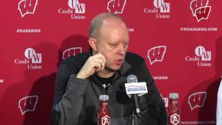 Repeat youtube video Kelly Sheffield Weekly Presser: Badgers return home after sweep at Iowa