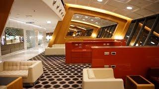 Qantas FIRST Class Lounge Tour - Sydney (SYD)