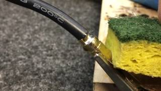 Soldering tips with large wire and bullet connectors. WWD2 Series