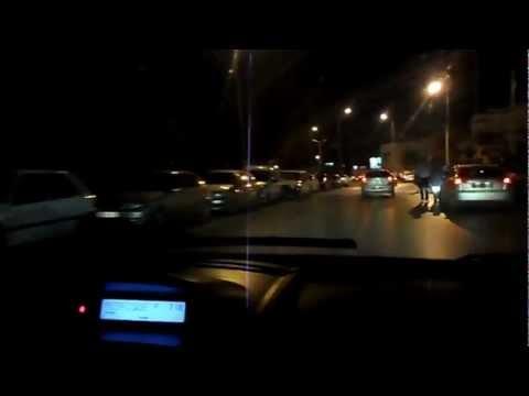 03/09/2012 - Tunisia  - VIaggio da Hammamet a Tunisi con Radio Calypso - Partenza