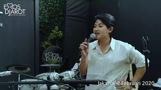 Sastrani Wirata berlatih bawakan Letih Menanti karya Erros Djarot untuk Live Streaming Concert S1E2