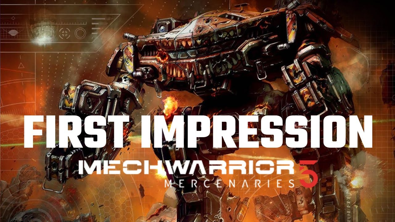 Mechwarrior 5: Mercenaries First Impression | Full Mission Gameplay + MechLab