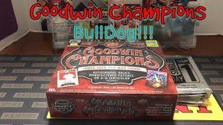 2018 Goodwin Champions Hobby Box. Plus Bonus Upperdeck Promotion Packs!!