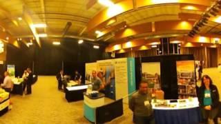 Resorts of Ontario conference trade show 2017 360 view Look around!  Deerhurst resort huntsville