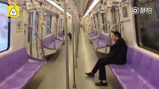 中国の最も荒漠した地下鉄駅#中国最荒凉的地铁站#China subway