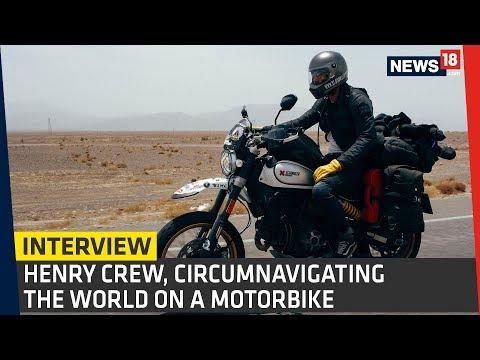 Interview | Henry Crew - Around The World On Ducati Scrambler Desert Sled