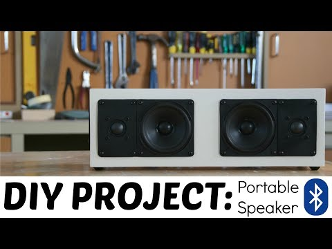 HOW TO: EXTREMELY LOUD DIY BLUETOOTH SPEAKER BUILD!