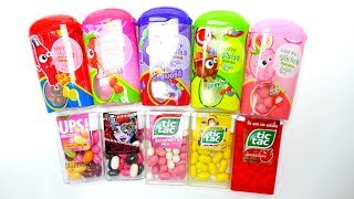 New Tic Tac & Lotte Candy Collection - German and Asia Sweets