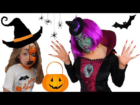Valerie and the Spirit of Halloween. Funny story for kids. Pretend Play.