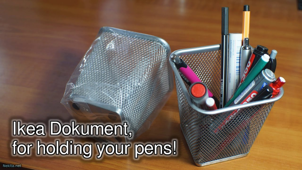 ikea office supplies. Ikea Dokument, For Holding Your Pens! - Office Hours NekitaNet Live Stream Supplies