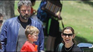 Ben Affleck Looks Insanely Depressed During Weekend Baseball With Son Samuel And Jennifer Garner