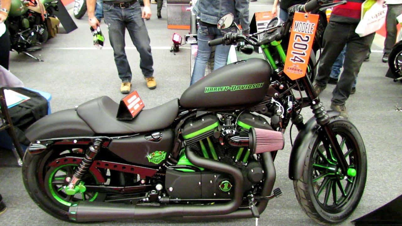 2014 harley-davidson sportster iron 883 custom - walkaround - 2013