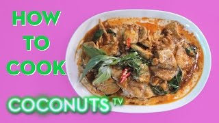 How To Cook: Panang Curry With Chicken