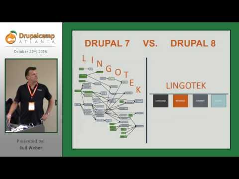 DrupalCamp Atlanta 2016: Translate in Drupal 8: A New Era in Translation Has Begun (Bull Weber) on YouTube