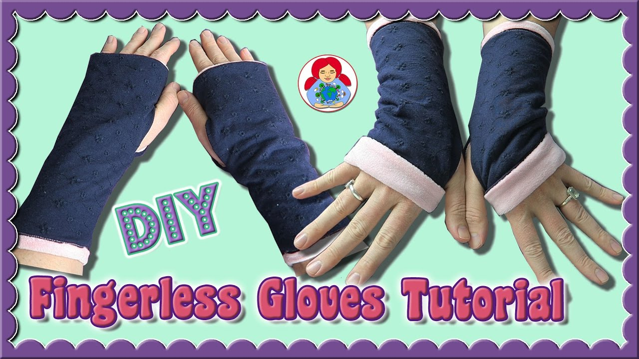 Diy how to sew fingerless gloves sami dolls step by step diy how to sew fingerless gloves sami dolls step by step tutorial jeuxipadfo Choice Image