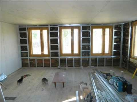 внутренняя отделка старого дома гипроком