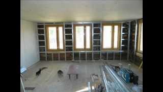 видео Внутренняя отделка деревянного дома