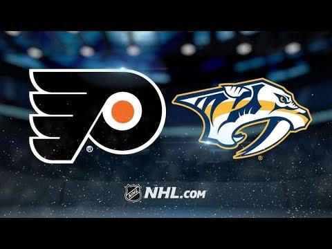 Philadelphia Flyers Vs. Nashville Predators | NHL Game Recap | October 10, 2017 | HD