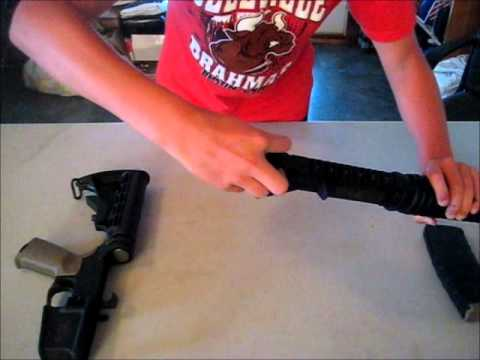 How to Disassemble and Re-asseble an AR-15( M&P 15)
