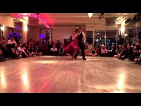 Melina Brufman & Sergio Diaz at Nocturne Tango Salon in NYC (2/4)