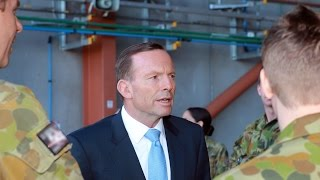 Prime Minister visit to RAAF Base Amberley
