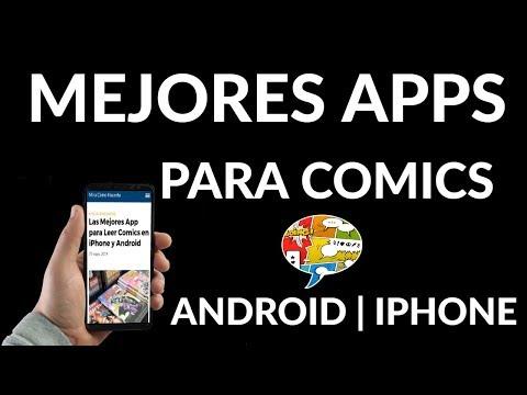 Las Mejores App para Leer Comics en iPhone y Android