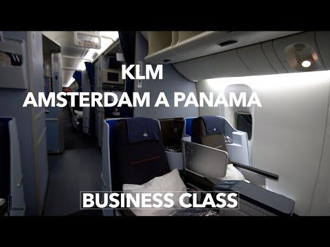 Business class Amsterdam a Panama