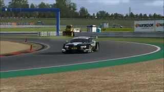 【RaceRoom Racing Experience】Competitions モートルシュポルト・アリーナ・オッシャースレーベン アウディRS5DTM2014 1:22.547