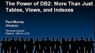 The Power Of Db2: More Than Just Tables, Views, And Indexes