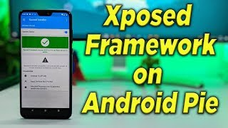 Gambar cover Install Xposed Framework on Android Pie | Xposed Module for PIE [HINDI]