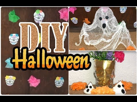 Diy faciles para decorar tu habitaci n oficina halloween for Oficinas de youtube mexico