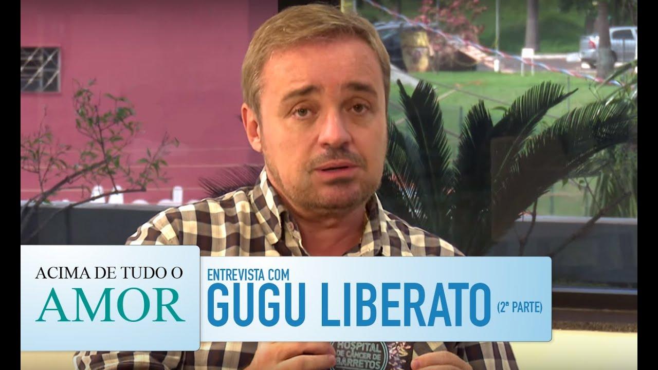 Acima de Tudo o Amor - 20/1/2016 - Entrevista com Gugu Liberato (bloco 2)