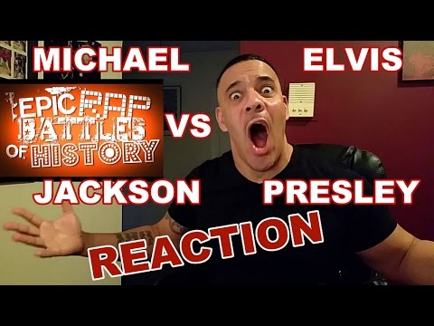 Michael Jackson vs Elvis Presley: Epic Rap Battle Reaction