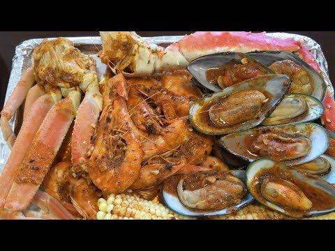 Seafood Boil!!!! snowcrab,king crab,shrimp and mussel