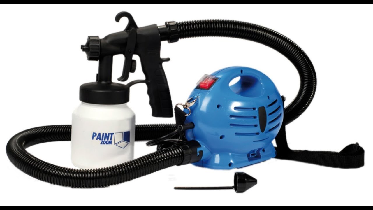 Paint Zoom Paint Sprayer (English) - YouTube