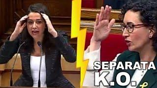 """¡¡¡LO HA VUELTO A HACER!!! Inés ARRIMADAS hace que todo el Parlament """"SE RÍA"""" de MARTA ROVIRA"""