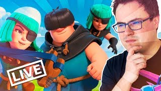 CHALLENGE OF THE CROOKS IN THE SUPER MIND SMALL | #BrillanteGo4CR | Clash Royale