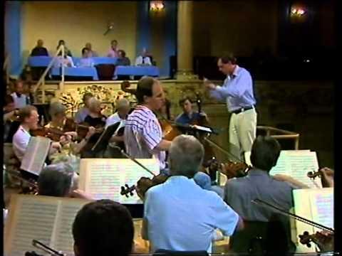 Morten Zeuthen performing Schumann cello concerto (1992) at the Malko Competition
