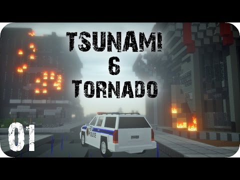 TSUNAMI & TORNADO - Episode 1 - Minecraft Adventure [DE] [HD]