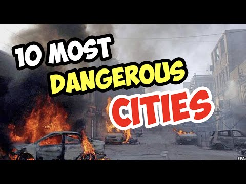 10 Most DANGEROUS Cities In The United States Of America