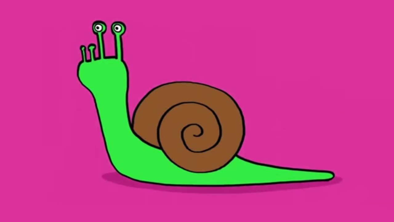 Apprendre A Dessiner Un Escargot Youtube