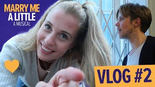 Final Week Of Rehearsals! | Marry Me A Little Vlog with Rob Houchen & Celinde Schoenmaker
