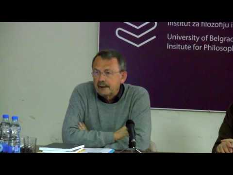 """Seminar """"Why the Euro Divides Europe?"""" with Wolfgang Streeck"""