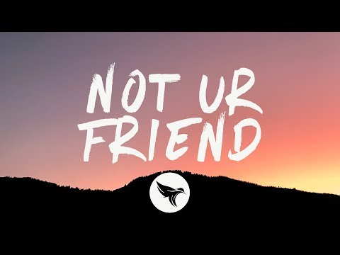 Jeremy Zucker - not ur friend (Lyrics)